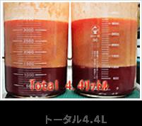 脂肪+チューメセント液+血液
