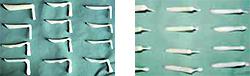 隆鼻術の材料としてのシリコンプロテーゼ